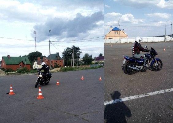 получение прав на управление мотоциклом